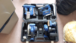 Delta Shop Master 6 piece cordless tool kit