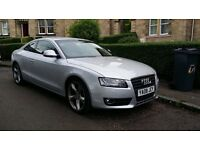 Audi A5 2.7Tdi Silver Top Spec with FSH