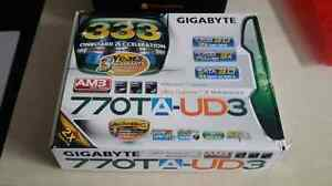 Mother board +Ram+CPU    and gpu and power supply 500 watts