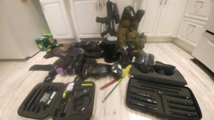 Paintball blow out