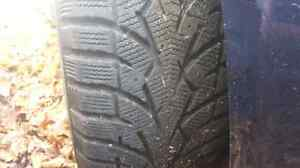 Winter tires 195/65/r15 Cambridge Kitchener Area image 3