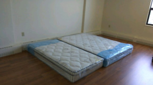 Mattresses and other items on moving sale