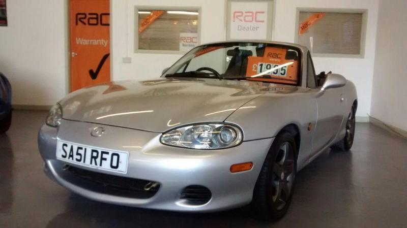 2001 51 REG MAZDA MX5 1.8cc - COIL OVER SUSPENSION - PERFORMANCE EXHAUST