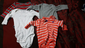 Boys 3 month onezies