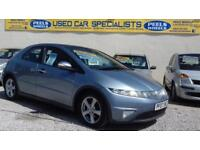 2007 (07) Honda Civic 2.2 i-CTDi ES * TURBO DIESEL * CHEAP TAX * BLUE * 5 DOORS