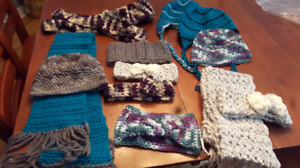 Scarves, hats, headwarmers