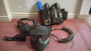 Paintball Equipment Package
