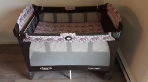 Parc graco pack & play 85$