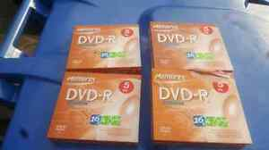 Memorex dvd-r 5 pack 16x 4.7gb  West Island Greater Montréal image 1