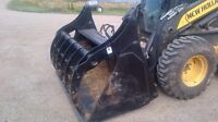"72"" hla silage bucket"