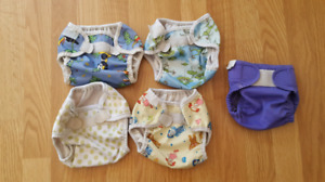 Bummis diaper covers, 5 for $2