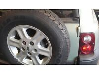 Freelander Alloy / Tyre - Nee Tyre! - 195 / 80 / 15