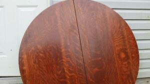 Antique Solid Wood Round Table Top