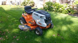 Columbia riding lawn mower