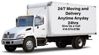24/7 MOVING & JUNK REMOVAL (Avail 24hours)416-574-0789