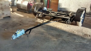 Compleatly rebuilt car dolly