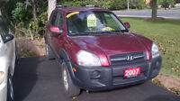2007 HYUNDAI TUCSON GL only $ 5995 + tax / CERTIFIED