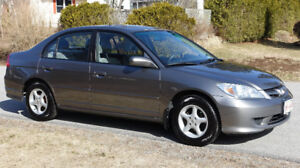 2005 Honda Civic Automatic - LX-G with Electric Sunroof
