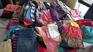 Lot de vêtements pour bébé fille 0-2ans