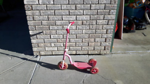 Free Girls Bike and Scooter