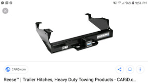 reese trailer hitch setup
