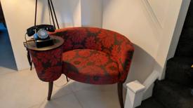 Hallway telephone chair