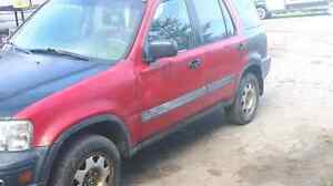 Parting out crv