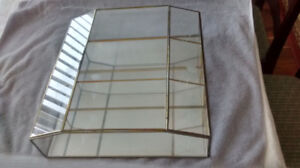 Wall- mounted Glass Curio Case