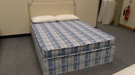Brand new Double Bed, Complete mattress & base. Bargain
