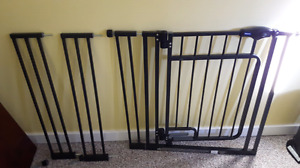 2 Baby or pet gates for sale