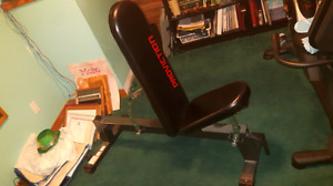 Adjustable workout bench