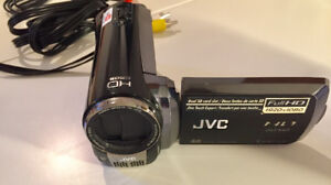 JVC Camcorder (model GZ-HM200BU) (No Charger Included)