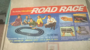 VINTAGE 1960`S ELDON ROAD RACE TRACK IN BOX London Ontario image 1