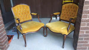Pair of Queen Anne Armchairs