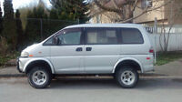 1996 Mitsubishi Delica L400 High Roof, LIFTED - TURBO DIESEL!