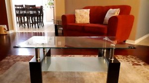 Gorgeous Living room sofa/couch set with coffee table and two si