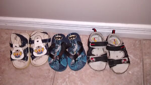 Baby sandals/flip flops size 5 All for $3