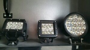 LED STROBE AND BEAM LIGHTS FOR TOW TRUCKS PLOWS SERVICE VEHICLES