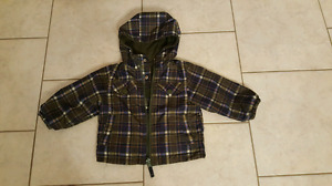 12m Reversible fall/spring coat