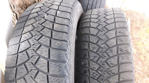 *NOW  $80* 265 70 17 Goodyear Ultra Grip winter tires