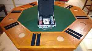 Poker Table, Bumper pool