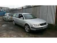 Vw Passat tdi estate half leather suede seats needs mot project drives well px/swap £400
