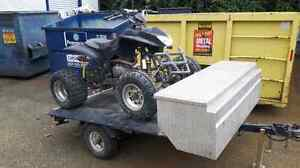 Quad and trailer