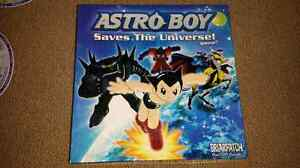 Astro Boy saves the universe board game