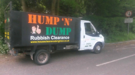 HUMP N DUMP Rubbish Clearance/ Waste disposal/Garden Clearance/office