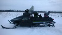 well maintained  low km 1990  440 liquid arctic cat prowler