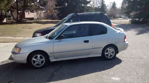 2002 Hyundai Accent GSI Coupe (2 door)