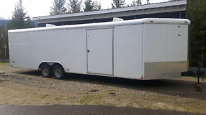 33 foot covered trailer