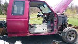 Truck cab to give away for scrap