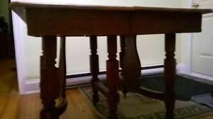 Antique dining table. Kitchener / Waterloo Kitchener Area image 4